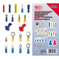 ASSORTIMENT KABELSCHOENTJES 160DLG, BGS 14105