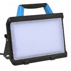 LED BOUWLAMP 45W PROF. 3800LM +2X WCD IP54 ZWART