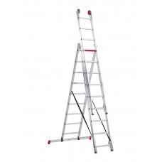 ALL ROUND 3-DELIGE REFORMLADDER AR 3060 3 X 9