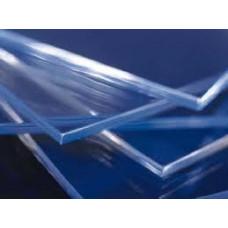 PS VLAKKE PLAAT 3MM GLASHELDER AFM. 50X75CM