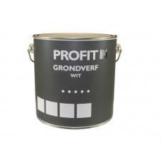 GRONDVERF PROFIT WIT BOUW 2.5 LITER