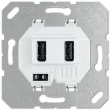JUNG USB 2X INBOUW USB3-2WW
