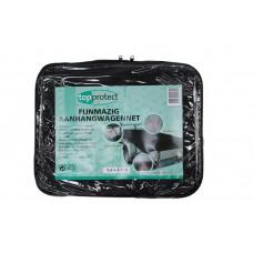 AANHANGWAGEN NET FIJNMAZIG + KOORD 250 X 400 GROEN