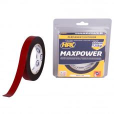 MAX POWER OUTDOOR BEVESTIGINGSTAPE - ZWART 19MM X 5M